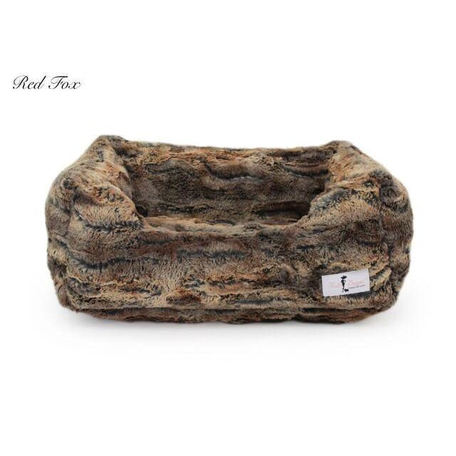 Luxe Dog Bed Red Fox by Hello Doggie - 1