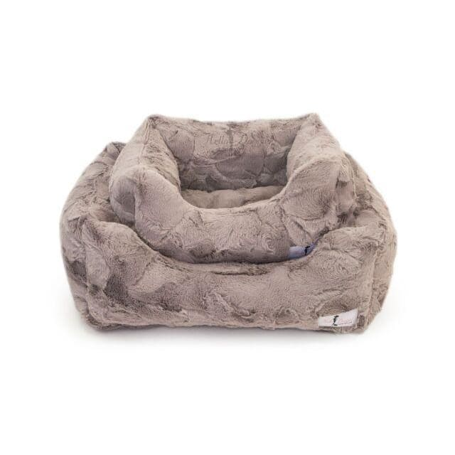 Luxe Dog Bed Taupe by Hello Doggie - 1