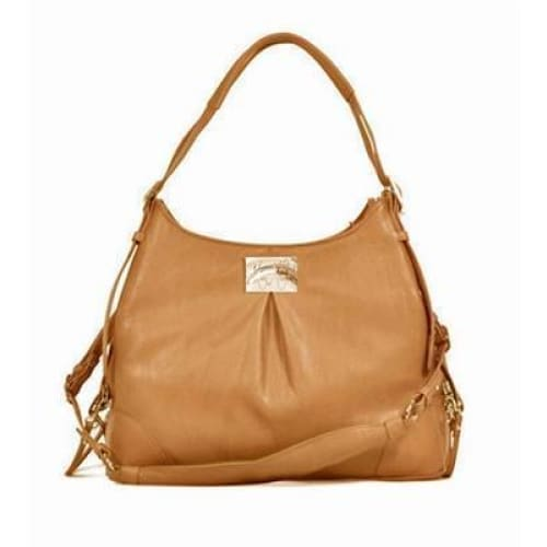 Mia Michelle Zoie Pet Carrier in Caramel Macchiato - 1