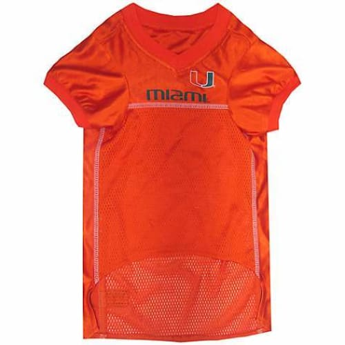 Miami Hurricanes Dog Jersey - 2