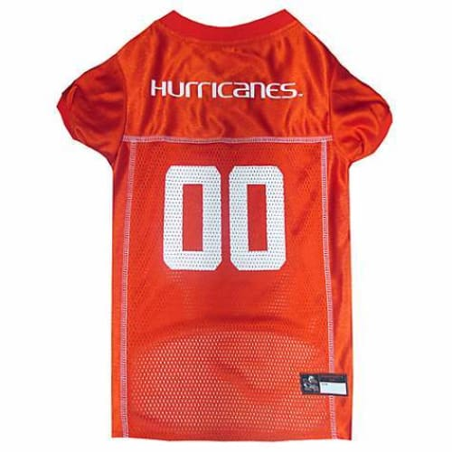 Miami Hurricanes Dog Jersey - 1