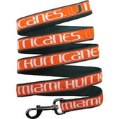 Miami Hurricanes Dog Leash Ribbon - 1