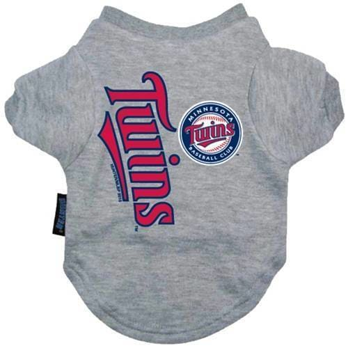 Minnesota Twins Dog Tee Shirt - MLB Dog Shirts - 1