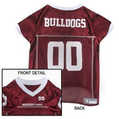 Mississippi Bulldogs Dog Jersey - College Dog Jerseys - 1