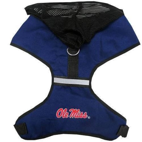 Mississippi Rebels Dog Harness - College Dog Harnesses - 1