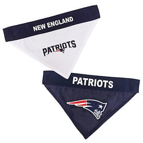 New England Patriots Dog Bandana Reversible Mesh - 1