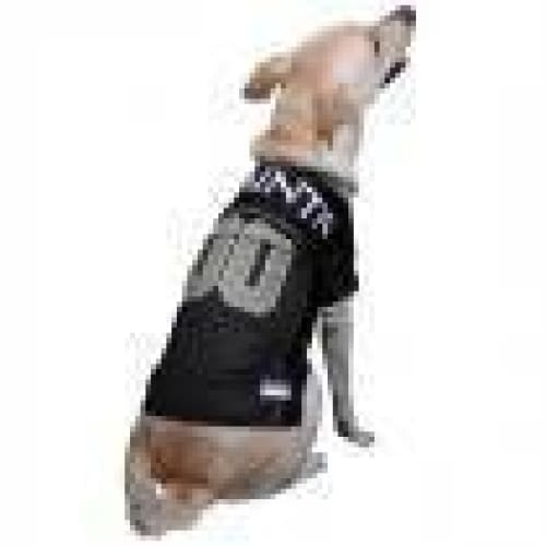 New Orleans Saints Dog Jersey with Gold Trim - 2