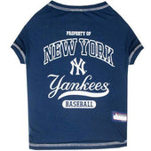 New York Yankees Dog Tee Shirt - 1