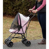 Pet Gear Travel Lite Pet Stroller - Pink - 1