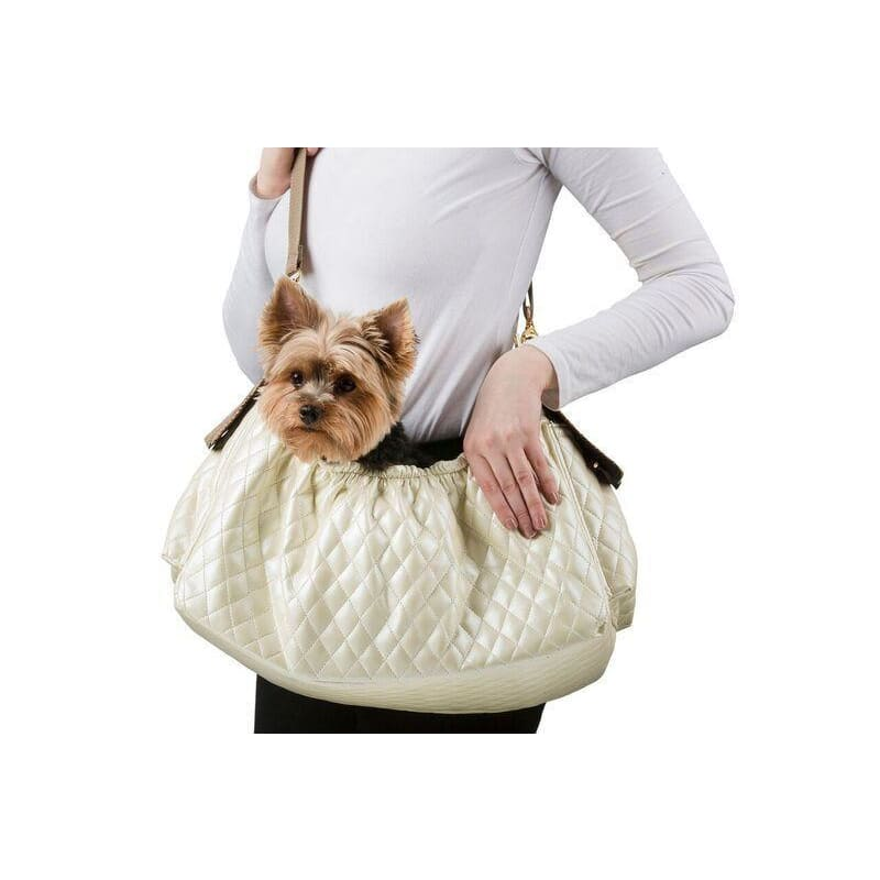 Petote Gigi Sling Carrier for Dogs Ivory - 1