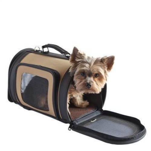 Petote Kelle Dog Carrier Khaki - 3