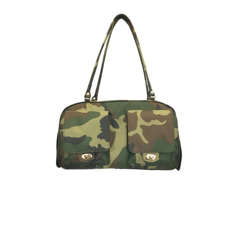 Petote Marlee Pet Carrier Camouflage - Dog Purse Carriers - 2