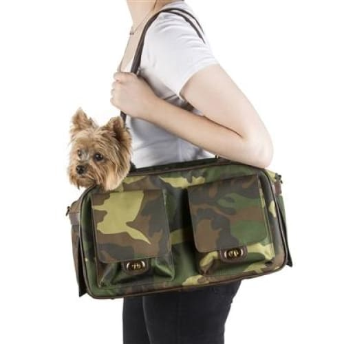 Petote Marlee Pet Carrier Camouflage - Dog Purse Carriers - 3