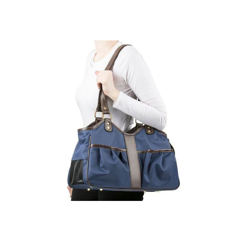 Petote Metro 2 Puppy Carrier Navy - Purse Dog Carriers - 6