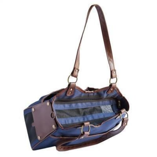 Petote Metro 2 Puppy Carrier Navy - Purse Dog Carriers - 2