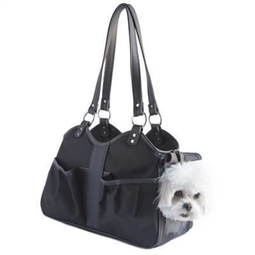 Petote Metro Classic Dogs Carrier Black Sable - 3