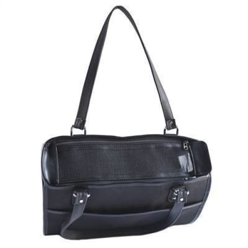 Petote Payton Dog Carrier Black - Purse Dog Carriers - 2