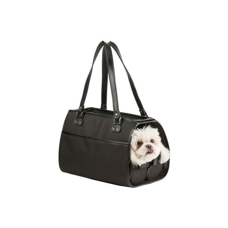 Petote Payton Dog Carrier Black - Purse Dog Carriers - 6