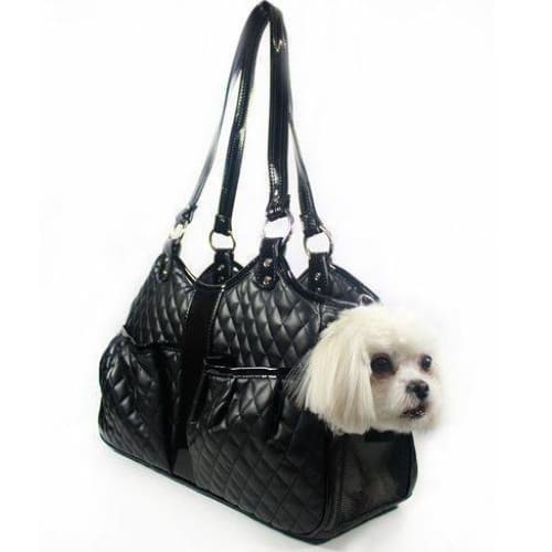 Petote Quilted Luxe Metro Puppy Carrier - 3
