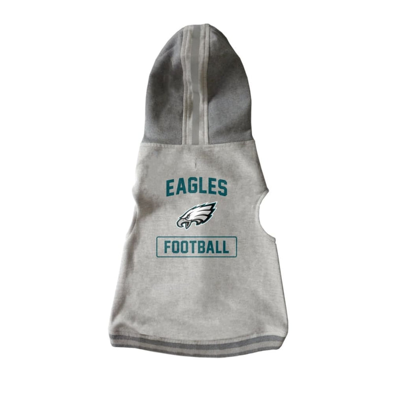 Philadelphia Eagles Pet Hooded Crewneck for Dogs - NFL Dog Hoody Tee Shirts - 1