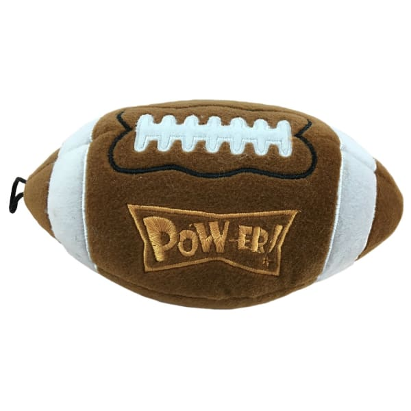 Pigskin Power Plush Dog Toy - Plush Dog Toys - 1