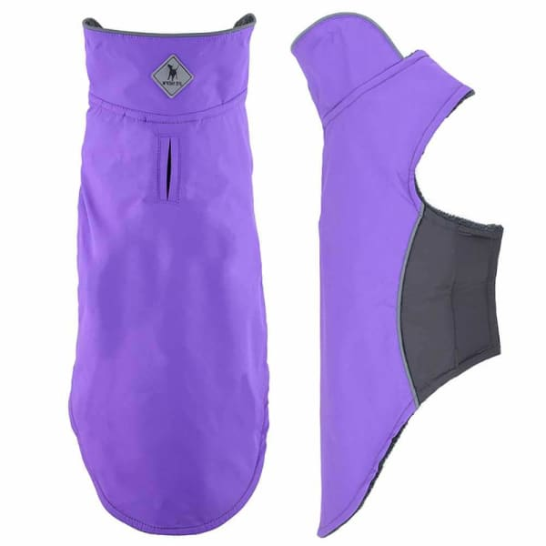 Purple Apex Jacket for Dogs - Dog Jackets & Coats - 2