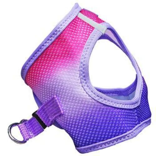 Raspberry Sundae Ombre Choke Free Dog Harness - Soft Dog Harnesses - 4
