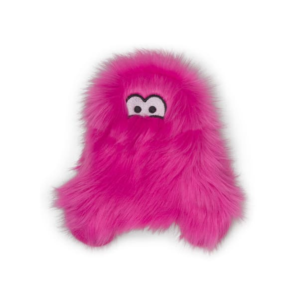 Richey Plush Tough Toy for Dogs in Hot Pink