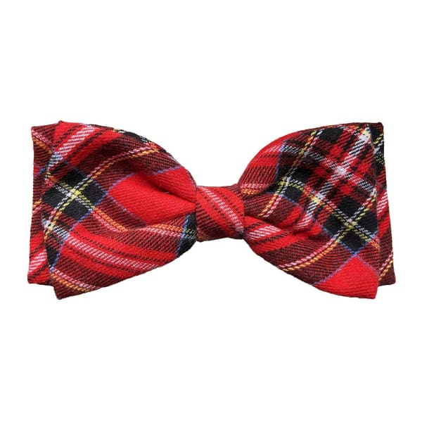 Royal Tartan Bow Tie for Dogs - Dog Bow Ties - 1