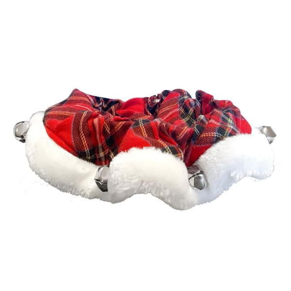 Royal Tartan Holiday Ruff with Bells for Dogs - Christmas for Dogs - 1