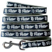 San Diego Padres Dog Leash Ribbon - 1