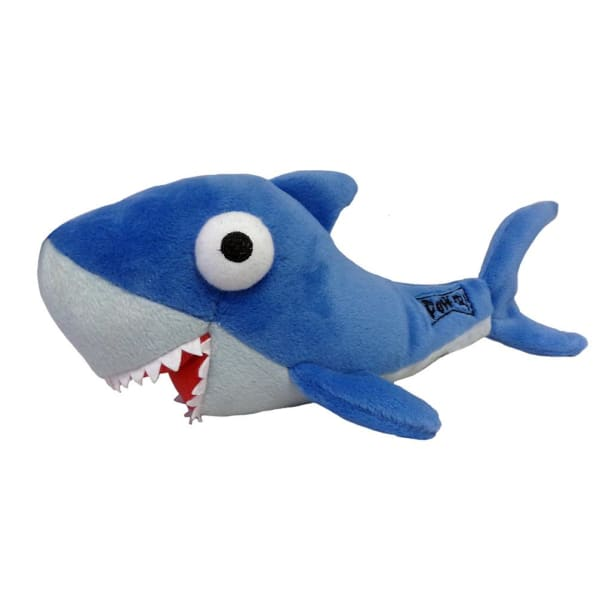 Shark Power Plush Dog Toy - Plush Dog Toys - 1