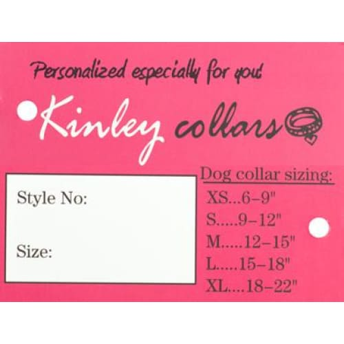 Kinley Custom Big Dog Collars