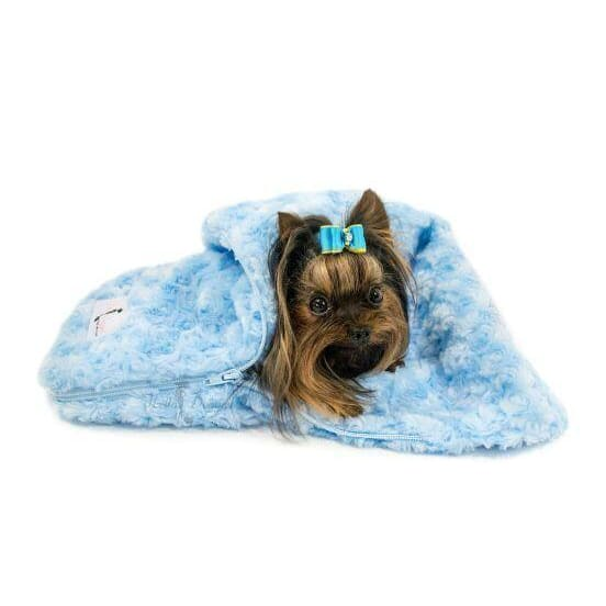 Snuggle Pup Sleeping Bag Cream by Hello Doggie - Dog Blankets - 3