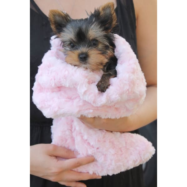 Snuggle Pup Sleeping Bag Cream by Hello Doggie - Dog Blankets - 6
