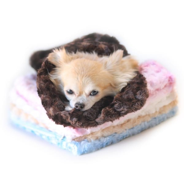 Snuggle Pup Sleeping Bag Cream by Hello Doggie - Dog Blankets - 2