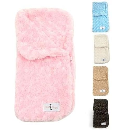 Snuggle Pup Sleeping Bag Pink by Hello Doggie - Dog Blankets - 6