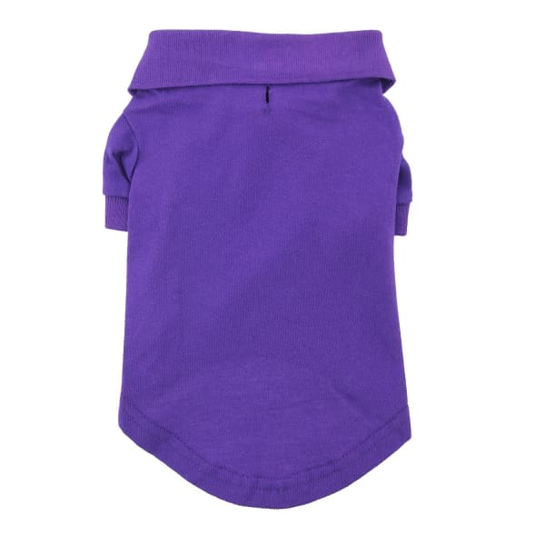 Solid Dog Polo - Ultra Violet - Dog Tee Shirts - 3