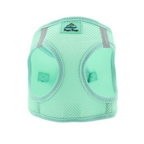 Solid Ultra Choke-Free Mesh Dog Harness Teal - Soft Dog Harnesses - 3