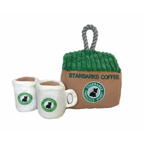 Starbarks Coffee House Interactive Toy for Dogs - Plush Dog Toys - 3