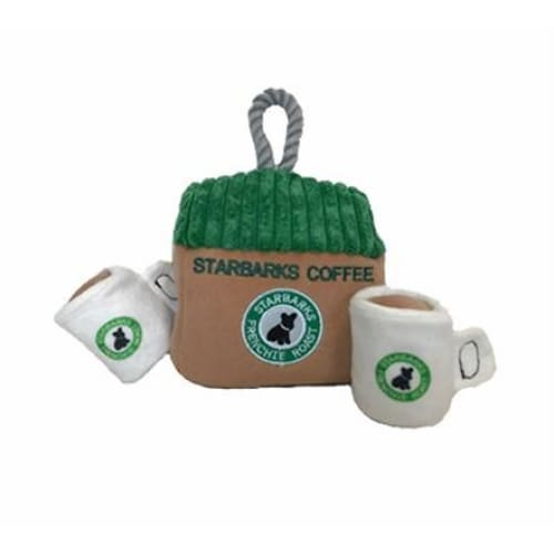 Starbarks Coffee House Interactive Toy for Dogs - Plush Dog Toys - 2