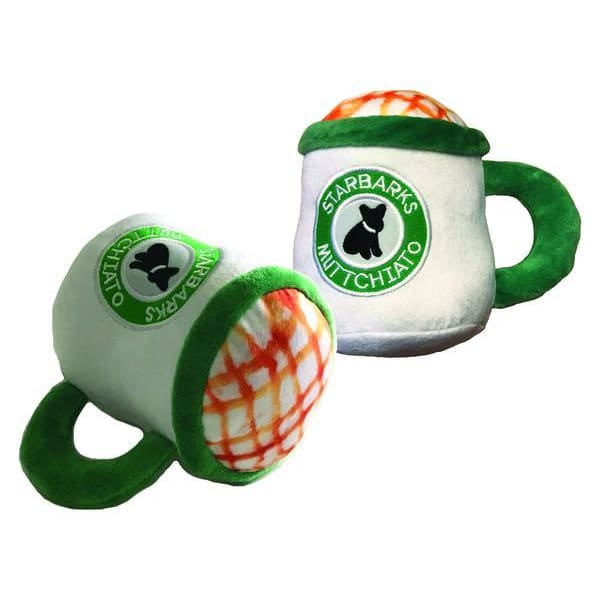 Starbarks Muttchiato - Coffee Cup Plush Toy for Dogs - 1