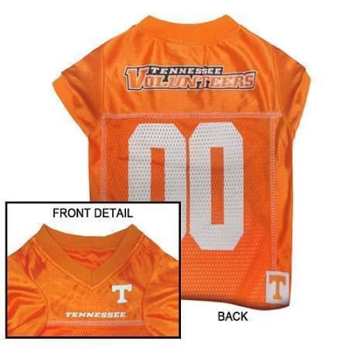 Tennessee Volunteers Dog Jersey - College Dog Jerseys - 1