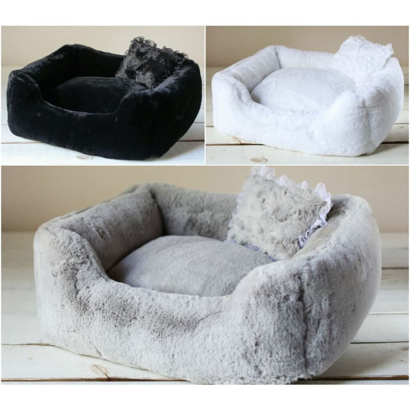 The Divine Dog Bed by Hello Doggie Black - 3