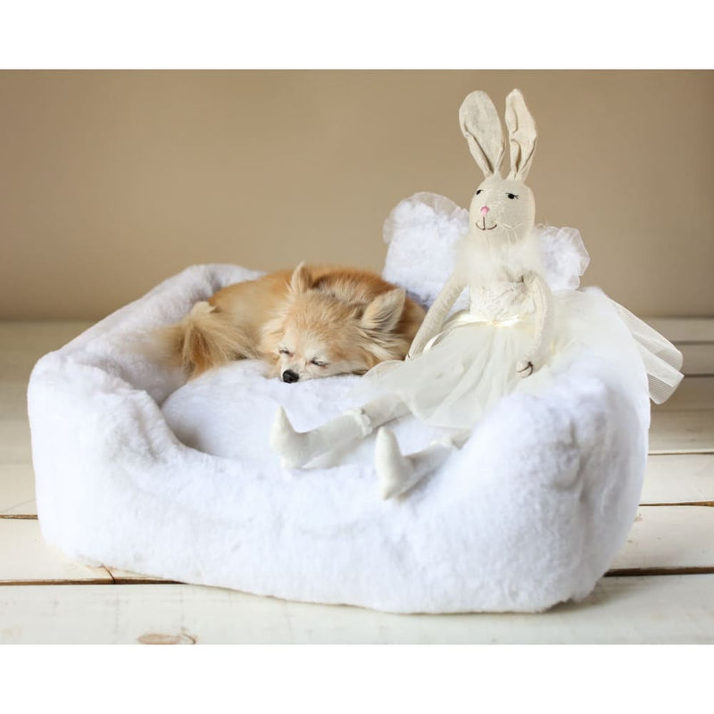The Divine Dog Bed by Hello Doggie White - 2