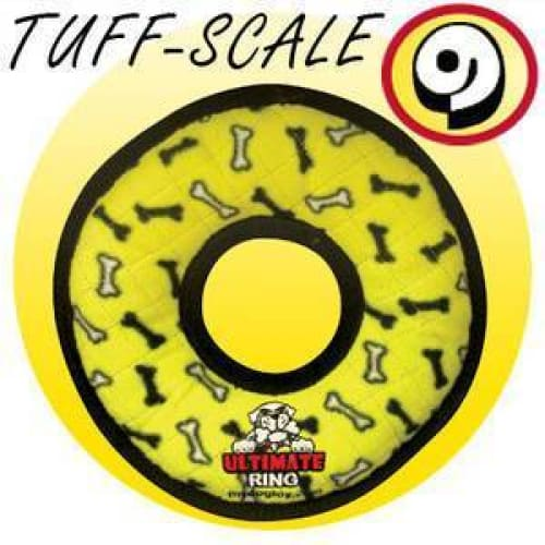 Ultimate Ring Tuffy Dog Toy - Indestructible & Tough Dog Toys - 3