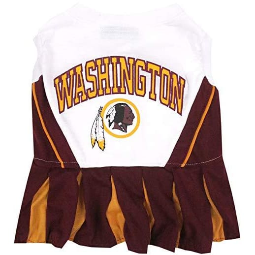 Washington Redskins Cheerleader Dog Dress - 1