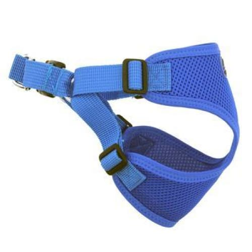 Wrap and Snap Choke Free Dog Harness Cobalt Blue - Soft Dog Harnesses - 4