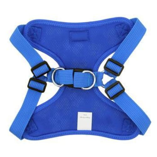 Wrap and Snap Choke Free Dog Harness Cobalt Blue - Soft Dog Harnesses - 3