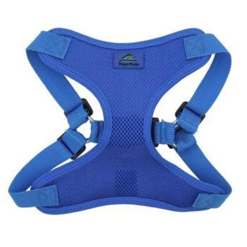 Wrap and Snap Choke Free Dog Harness Cobalt Blue - Soft Dog Harnesses - 2